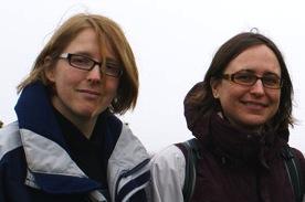 Julia Schroeder and Hannah Dugdale
