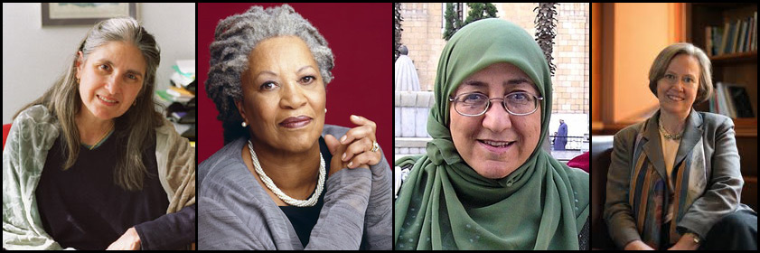 Lorraine Daston, Toni Morrison, Sakena Yacoobi, and Shirley M. Tilghman