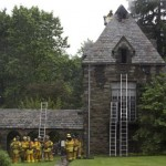Lightning Strikes and Ignites a Fire at the Women's Resource Center at Swarthmore College