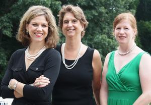 Kara Kolomitz, Susan Tammaro, and Miriam Finn Sherman