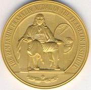 the benjamin franklin medal