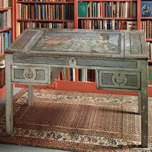 Virginia Woolf's writing desk.