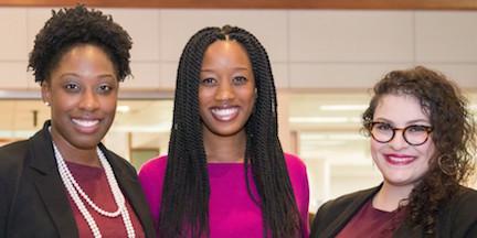Dr. Allen, Dr. Nnawulezi, and Dr. Shomali