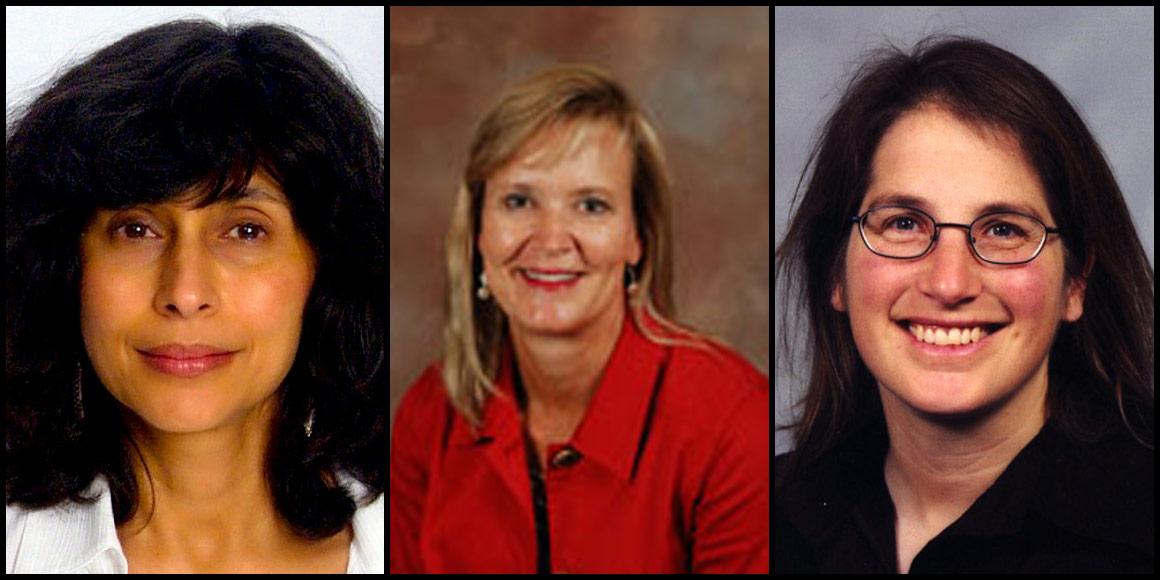 Shireen Adenwalla, Kathleen Anderson and Myra Cohen