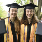 Twin Sisters Graduate in Top Two Spots at Trinity College in Connecticut