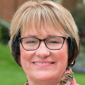 Dr. Susan Traverso, the new president of Thiel College