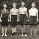 A Historic Collection of Athletic Wear Worn by Women College Students