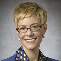Rebekah Woods is the first woman president of Columbia Basin College