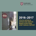 Harvard University Releases New Report on Title IX Policies and Programs
