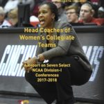 A Report Card on University Performance on Hiring Women Coaches for Women's Athletic Teams