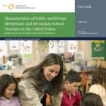 Women Continue to Hold the Vast Majority of Teacher Positions in K-12 Public and Private Schools