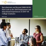 Differences in Educational and Employment Histories of Men and Women College Graduates a Decade Later